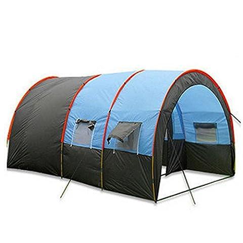 Cherryer Tente Tunnel de Camping Grande Tentes Dôme Impermeable Tente de Plage Instantanée Familiale Anti UV 5-6 Personnes 3 Chambres