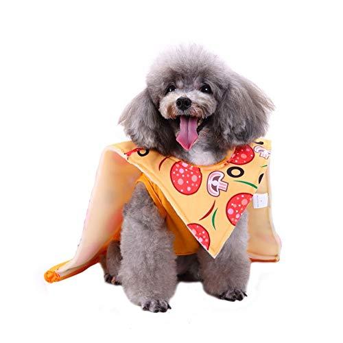 (PanDaDa Haustier Hund Interessante Lebensmittel Form Kostüm Lustige Kuchen Sushi Pizza Cosplay Kleidung)