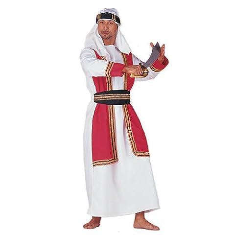 Hommes Desert Prince costume, y compris chapeau, Taille 58-60