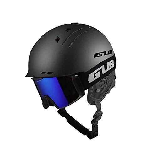 Lamptti Professional Lightweight Helmet - Durable Snowpark - Casque de Ski et de Snowboard pour Homme et Femme - Casque de Protection pour Le Sport en Plein a