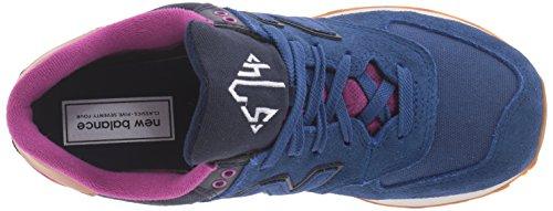 New Balance WL574 Femmes Daim Chaussure de Marche AMA