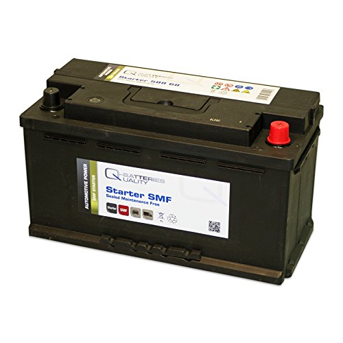 Q-Batteries Starterbatterie 588 68 Q88 12V 88Ah 680A (EN) Säure