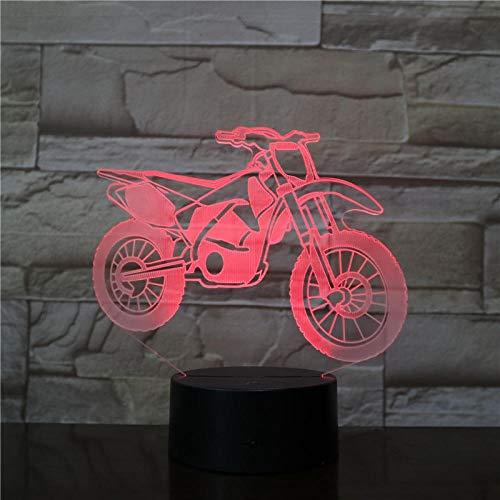 ZSSYD 16 Farben Nachtlicht Kind Nachttischlampe Baby Kinder Licht Motorrad Batterie Elektrische Farbe Nacht Led Nachtlicht Fernbedienung Einzigartige Dekoration Kinderlampe Schlummerlicht, Nachttisch