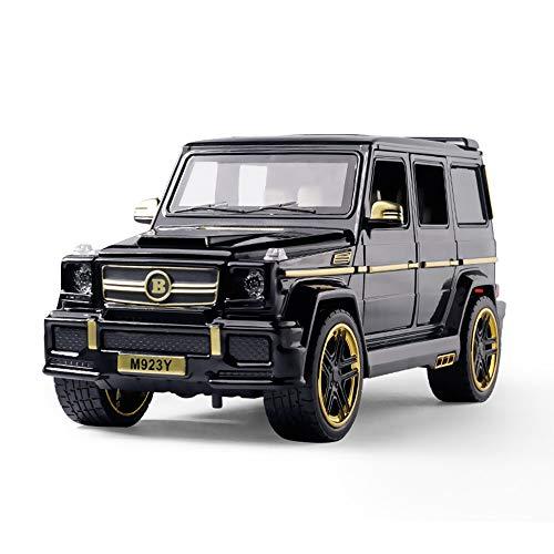 YZH Auto Form Auto 1:24 für Kinder und Erwachsene, scharfe Harte Körper Big G Off-Road-Spielzeug Auto solide Widerstand Kinder (Farbe: schwarz) (Stormtrooper-modell-kit)