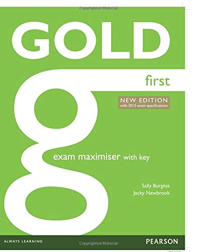 Gold First New Exam Maximiser with key [Lingua