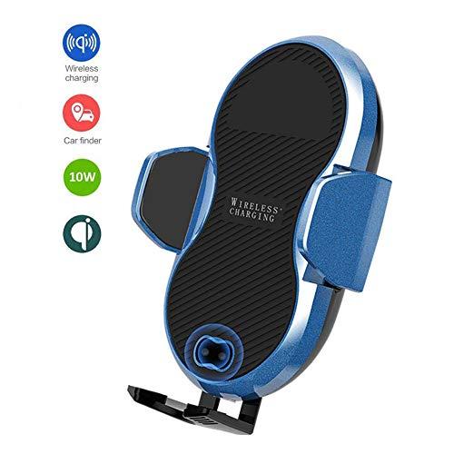 ZHAONI Wireless Charger Auto Handyhalterung Automatisch Schwerkraft 10W/15W Lüftung Armaturenbrett Handyhalter Fürs Auto Qi Ladestation Für iPhone XS/XR/8P Samsung S10/S9/S8 Qi Fähige -