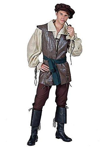 Mann im mittelalterlichen Bauern Jahre gekleidet Faktor 20 (Bauern Mittelalterliche Kleidung)