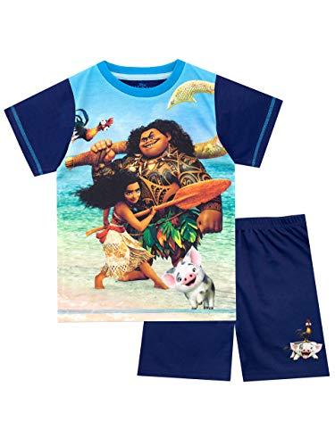 Disney Jungen Moana Schlafanzug Blau 128