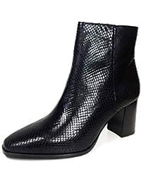 MASSIMO DUTTI - Sandalias de Vestir de Cuero para Mujer Negro Negro, Color Negro,…