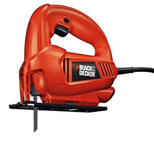 Black & Decker - Seghetto alternativo 400 W angolazione 0-45° sped. 24ore KS500