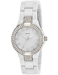 Guess Damen-Armbanduhr XS MINI PRISM Analog Quarz Plastik W11611L1