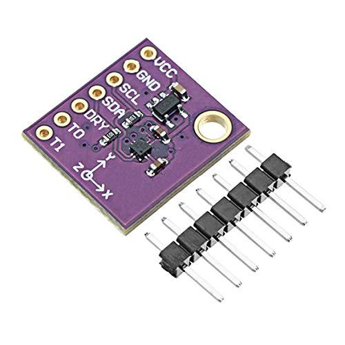 Harlls Modul, Komponente, 3-Achs-Magnetometer-Kompass-Magnetsensor Genauigkeit 0,15 T/LSB - Lila