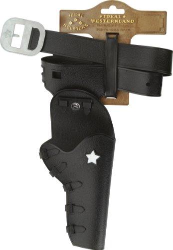 12 - Gürtel Jesse-James auf Tester, 1 Holster, 86 cm (Sheriff-gürtel)