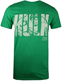 Marvel Hulk Text, T-Shirt Uomo