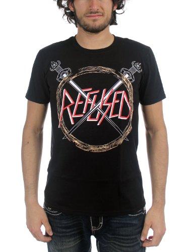Refused -  T-shirt - Uomo Nero  nero