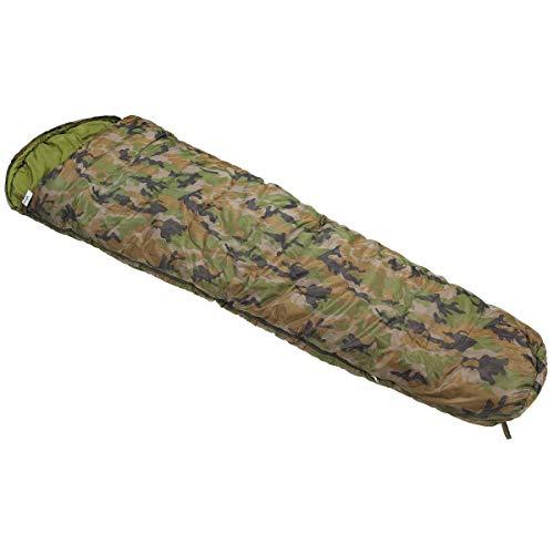 MFH Mummy Sleeping Bag 220 x 75 cm (Woodland)