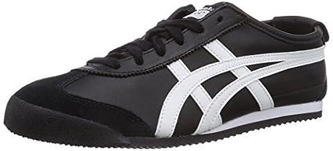 Onitsuka Tiger HL202 Mexico 66 Unisex Sneaker, Black/White, 44.5 EU