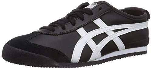Onitsuka Tiger Mexico 66 Sneakers, Unisex Adulto, Negro, 40.5 / 6.5 UK