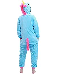 YiZYiF Unisex Niños Mono Pijama Invierno Cosplay Disfraz de Animal Una Pieza de Ropa para Dormir