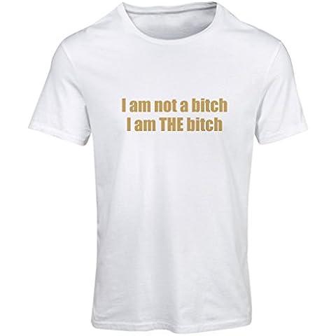 N4029F Camiseta mujer I am the Bitch gift