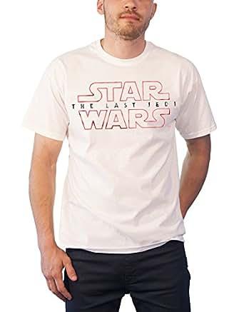 Star Wars T Shirt The Last Jedi Movie Logo Official Mens