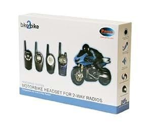 Pama Système de haut-parleur et microphone adapté aux casques de moto pour Talkie Walkie PMR (Import Royaume Uni)