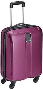 Safari Thorium Polycarbonate 55 cms Purple Hardsided Carry-On (Thorium-Stubble-Magenta-Purple-55-4WH)