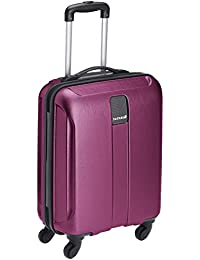 Safari Thorium Polycarbonate 55 cms Purple Hardsided Carry-On (Thorium-Stubble-Magenta-Purple-55-4WH)