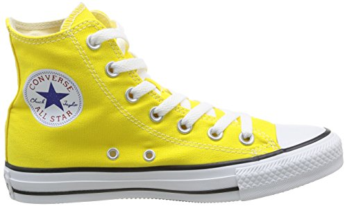 Converse All Star Hi Canvas Seasonal, Sneaker, Unisex Giallo (Citrus)