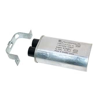 Véritable Condensateur micro-ondes WHIRLPOOL 481912138013 15UF