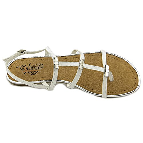 Unlisted Kenneth Cole Jazz Stand Femmes Sandales Gladiateur white