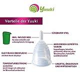 Menstruationstasse Yuuki Soft – Größe 2 inkl. Becher - 2
