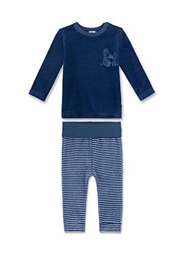 Sanetta Baby-Jungen Zweiteiliger Schlafanzug 221352, Blau (Jeans Blue 50238), 92