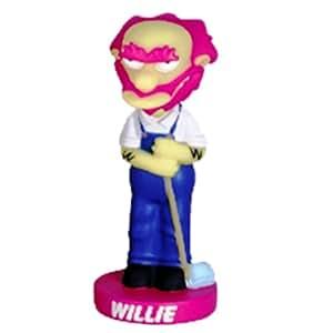Cinémaniak - Funko - Figurine - Bobble Head  Willy Radioactive Simpsons - En Pvc 19 Cm