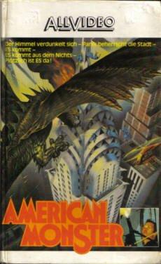 AMERICAN MONSTER - David Carradine, Richard Roundtree, Candy Clark und Michael Moriarty.