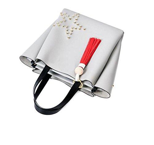 Pacchetto Di Carta Telefono Tracolla Pochette Delle Donne Borsa Borsa In Pelle Morbida Signora Messenger Bag Black