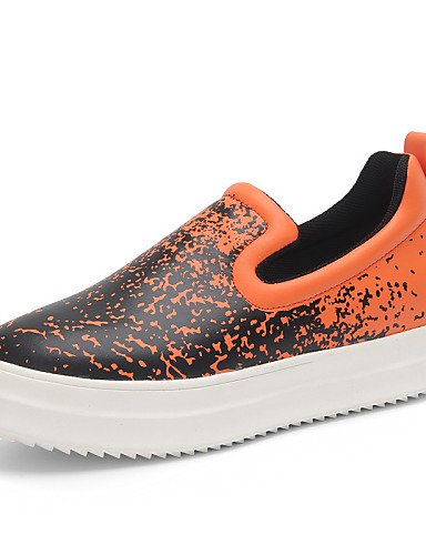 ZQ Scarpe Donna - Mocassini - Tempo libero / Casual - Creepers / Comoda - Piatto - Di corda - Verde / Bianco / Arancione , orange-us9 / eu40 / uk7 / cn41 , orange-us9 / eu40 / uk7 / cn41 white-us5.5 / eu36 / uk3.5 / cn35