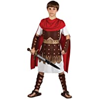 Traje del Disfraz del Partido de la Víspera de todos los Santos de muchachos Roman Gladiator Centurion 8/10 años (disfraz)