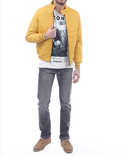Monte Carlo Men's Casual Jacket (_8907501316109_Yellow_38_)