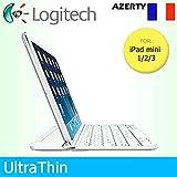 Logitech Étui à Clipser Ultra Fin aimanté pour Apple iPad Mini 1/2/3 Uniquement...