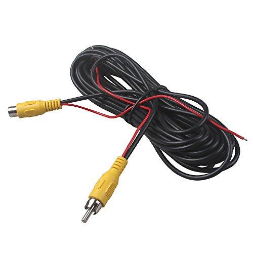 Cinch-Stecker auf Buchse Auto-Rückseite Rückfahrkamera Video-Audio-Verlängerung 6M Kabel mit Erkennungskabel 10 Meter von HitCar