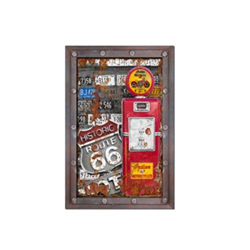 er Zeichen Retro Vintage Holz Fertigkeit einfallsreich Kunst ()