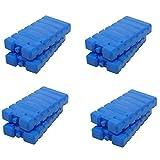 Kühlakkus Groß Flach Kühlelemente für Kühltasche und Kühlbox Kühlpack (8 Stueck)