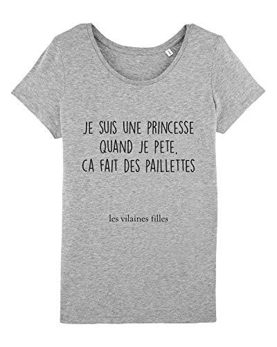 Les Vilaines Filles - Tee-Shirt - Femme - Humour -...