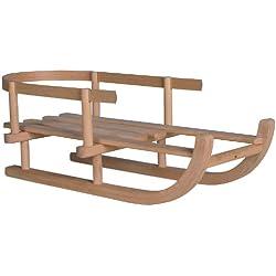Unbekannt Wenzel-Wood 350413Poupées Non Vernies Luge 45cm