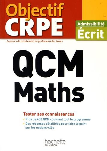 QCM CRPE : Maths