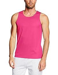 5e435ca1940ba Amazon.co.uk  Pink - Tank Tops   Tops   Tees  Clothing