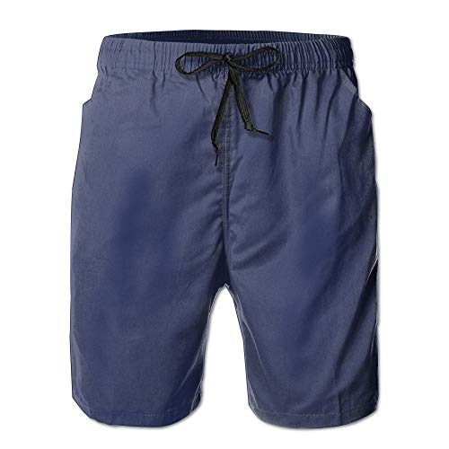 Pro-sun-pearl (Men's Summer Quick Dry Beach Shorts Surf Pants Swim Shorts A Variety of Colors Are Available Small)