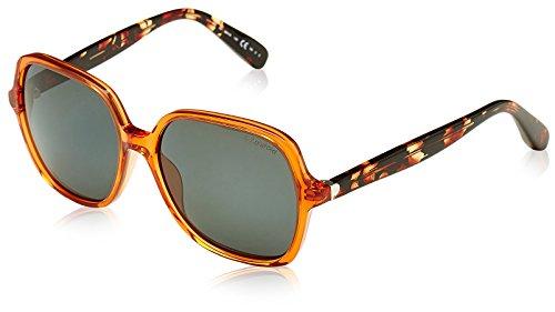 Polaroid Damen PLP-110-1NC-2O Sonnenbrille, Orange (Naranja), 56