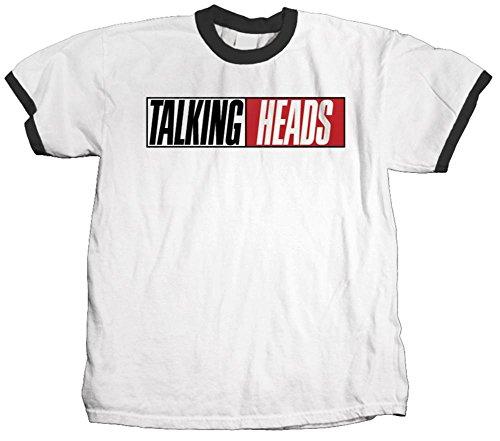 LYYJY Talking Heads Men's True Stories Vintage T-shirt White - Talking Heads Tee